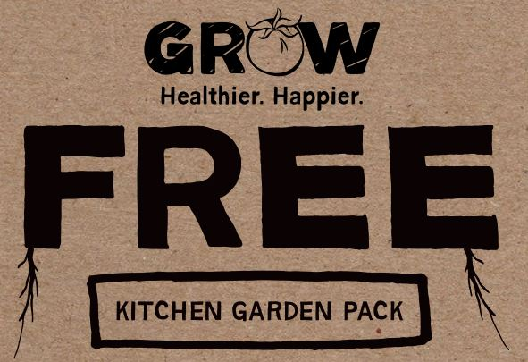 Free Kitchen Garden Pack